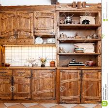 Furniture Kitchen Furniture For Kitchen In Country Style Stock Photography Image