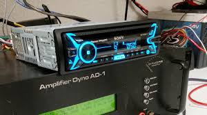 sony mex xbbt amplified car stereo dyno test smd d amore ad  sony mex xb100bt amplified car stereo dyno test smd d amore ad 1