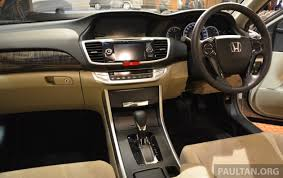 new car release in malaysia 2013New Honda Accord launched in Malaysia  from RM140k