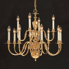 weinstock lighting 12 light polished brass chandelier