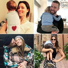 With aaron camper, justin timberlake, dontae winslow. Jessica Biel And Justin Timberlake S Family Album Pics