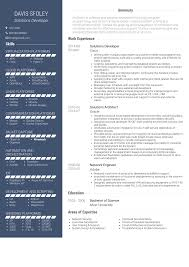 Resume Examples Architect Solution Architect Resume Samples And Templates Visualcv