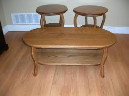 oval coffee table sets best