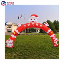 Santa Door Design Us 300 0 20ft Inflatable Santa Claus Archway Door Design Inflatable Christmas Arch For Festival Decoration In Inflatable Bouncers From Toys