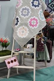 36 best Quilts: Quilty Love Patterns images on Pinterest ... & 2016 Spring Quilt Market - nana company City Tiles Quilt by Emily of  Quiltylove.com Adamdwight.com