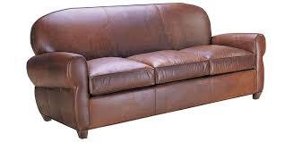 Living Room Edison  Antique Leather Sofa25