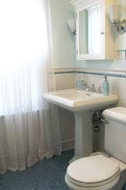 bathroom pedestal sink storage. Beautiful Bathroom Furniture Artistic Small Bathroom Pedestal Sink Storage Behind White  Ceramic Subway Tile Under Mirror Door Medicine Vanity Cabinet Office Space For Rent  To