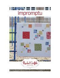 Impromptu - PDF Quilt Pattern by Rachel Griffith Designs | Modern ... & Impromptu - PDF Quilt Pattern Adamdwight.com