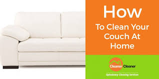 how to clean your sofa properly at home