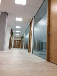 stylish glass with made to order office doors