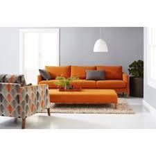 Orange Living Room Sets Orange Sofa Interior Design Winsome Living Room Furniture Orange