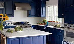 painted blue kitchen cabinets house:  great paint colors for a kitchen house beautiful