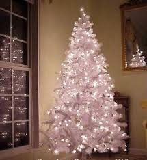 White Pre-Lit Artificial Christmas Tree: 6.5 Foot, with 750 Tips & 500