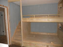 bunk beds with built in stairs photos freezer and stair iyashix