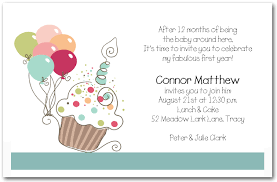 Boy's Cupcake Balloons Birthday Invitation Cupcake Invitations Amazing Birthday Invitation Pictures