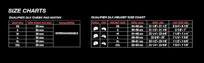 Bell Size Chart Bell Qualifier Dlx Blackout Street Motorcycle Helmet Blackout Matte Black X Large