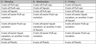 bodyweight workout for beginners the