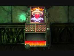 Bioshock Vending Machine Gorgeous Bioshock El Ammo Bandito Machine Sounds YouTube