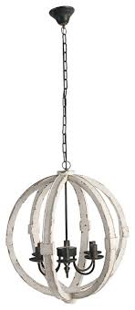 wood metal globe chandelier 22 5