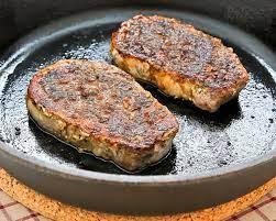 pan roasted pork loin chops roti n rice