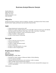 Gallery Of Business Resume Cover Letter
