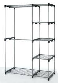 portable clothing rack garment on wheels closet racks