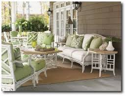 White Bamboo Outdoor Furniture