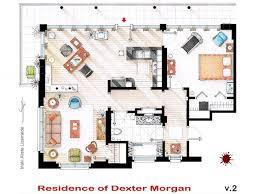 Designers in legal brawl over novelty floor plans of The Simpsons    Dexter Floor plans