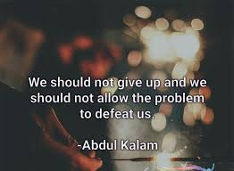 Apj Abdul Kalam Thoughts Quotes Words That Will Inspire You Everyday