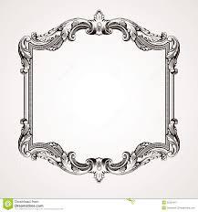 antique frame border. Vector Vintage Border Frame Engraving Antique R