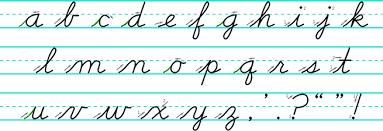 Lowercase Cursive Alphabet Worksheet Cursive Letters Lowercase