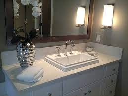Quartz Bathroom Countertop Iced White Quartz Countertops By M S International Inc