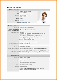 Format For Curriculum Vitae 24 Cv Resume Sample Pdf Theorynpractice 15