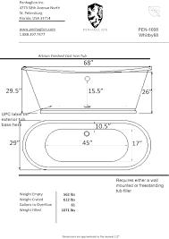 dimensions of a bathtub post bathtub drain rough in dimensions