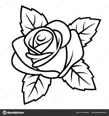 роуз эскиз 001 векторное изображение Alexeypushkin 182863302