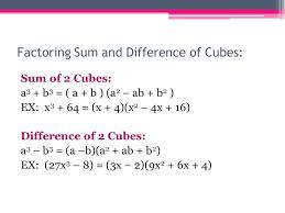 3 factoring