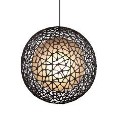 Wire Pendant Light Spherical Wire Pendant Light Assorted Sizes Lighting Collective
