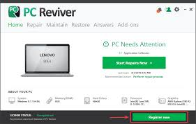 How Do I Activate Or Register Pc Reviver On My Computer
