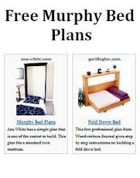 murphy bed plans