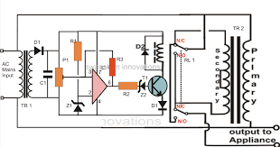 refrigerator circuit diagram pdf refrigerator automatic voltage stabilizer circuit for tv sets and refrigerator on refrigerator circuit diagram pdf