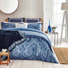 garage outstanding patterned duvet covers 29 best solutions of indigo blue paisley pattern bedding stunning
