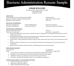 Administration Resume Templates 44 Administration Resume Templates Pdf Doc Free