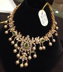 Gold Polki Necklace Designs Pin On Uncut Polki Jadau Meenakari Diamond Jewellery
