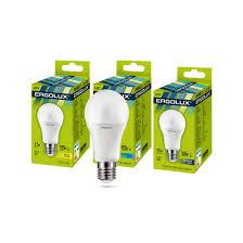 Эл. <b>лампа светодиодная</b>, <b>Ergolux</b>, <b>LED</b>-<b>A60</b>-17W-E27-6K ...