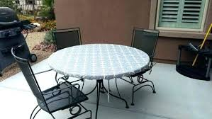 plastic tablecloths with elastic round fitted plastic tablecloths