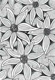 Patterns To Draw Beauteous Black And White Patterns To Draw Black White Print Of Original Ink