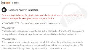 ielts essay topics and answers on education https www