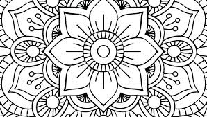 Coloring Pages Mandala Coloring Pages Online Intricate Free