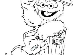 Sesame Street Printable Coloring Pages Free Printable Sesame Street