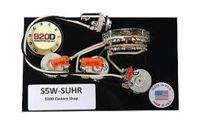 920d custom shop 034 suhr 034 hss wiring harness w 5 way image is loading 920d custom shop 034 suhr 034 hss wiring